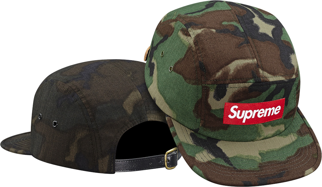 Supreme Military Painted Camo Camp Cap