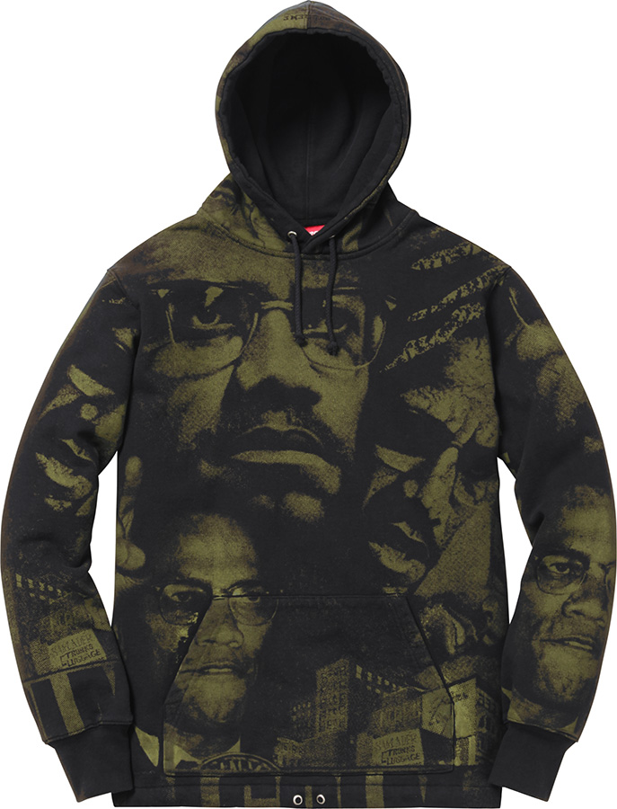 Supreme Malcolm X™ Hooded Sweatshirt