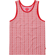 Jacquard Dollar Tank Top