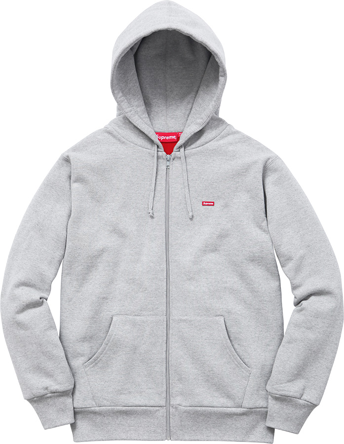 Supreme Small Box Thermal Zip-Up Sweat
