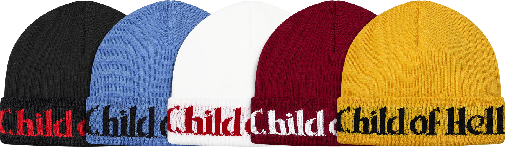 supreme child of hell beanie