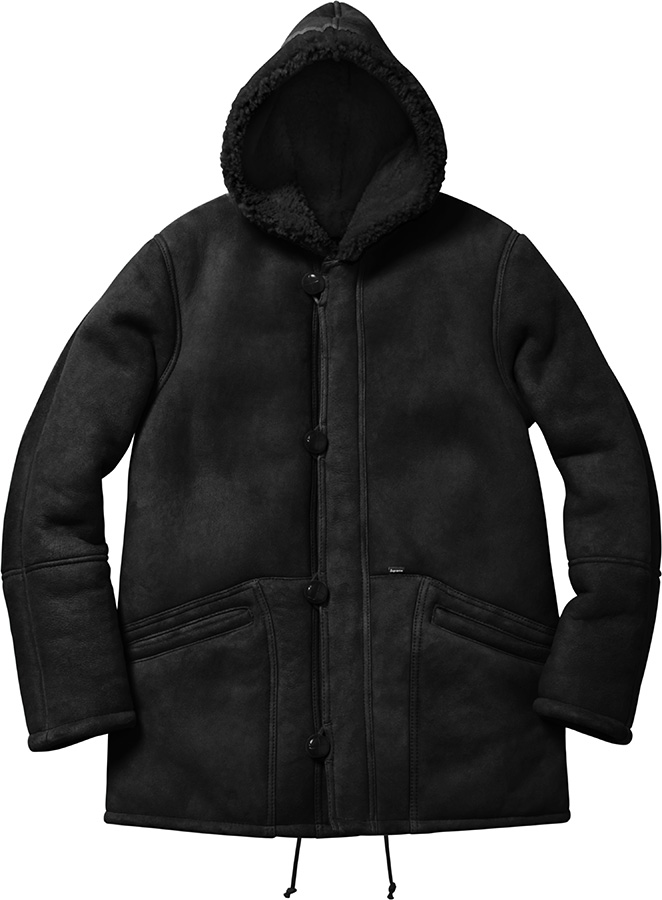 Supreme Supreme/Schott® Hooded Shearling