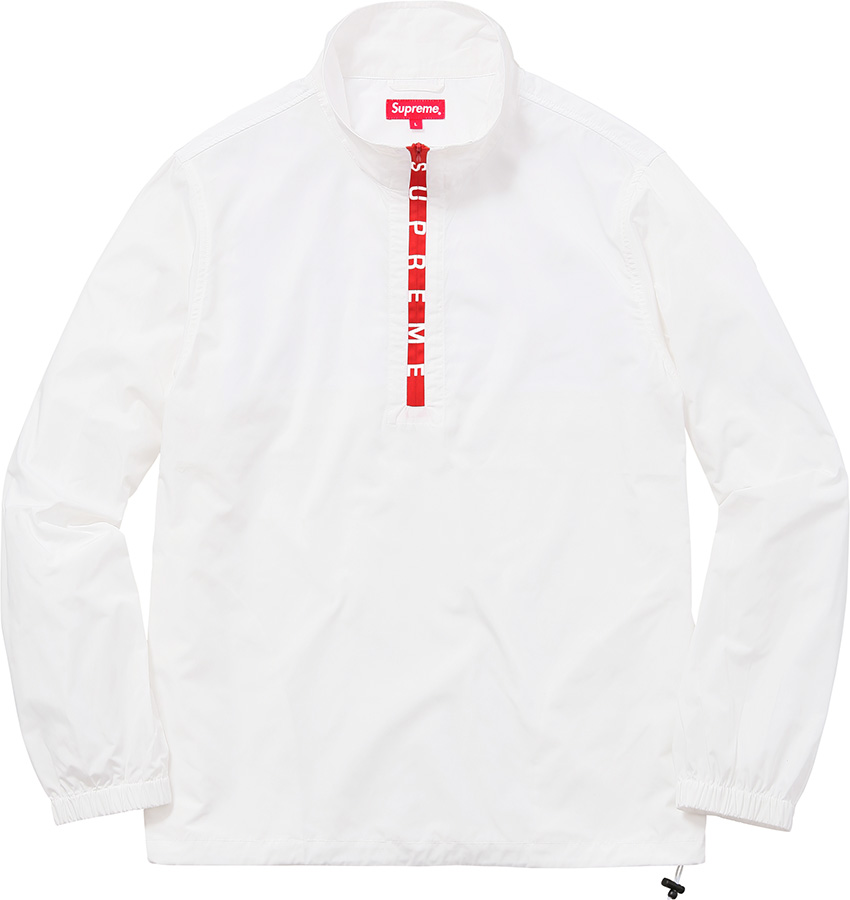 Supreme Zip Logo Pullover Windbreaker