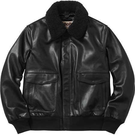 Supreme�/Schott� Leather A-2 Flight Jacket