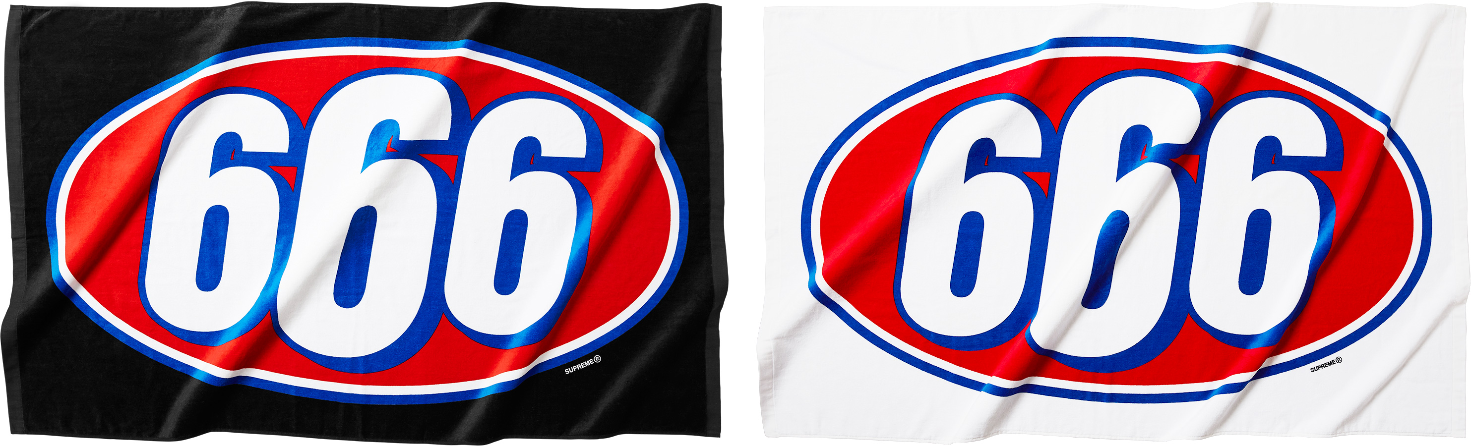 Supreme 666 Beach Towel