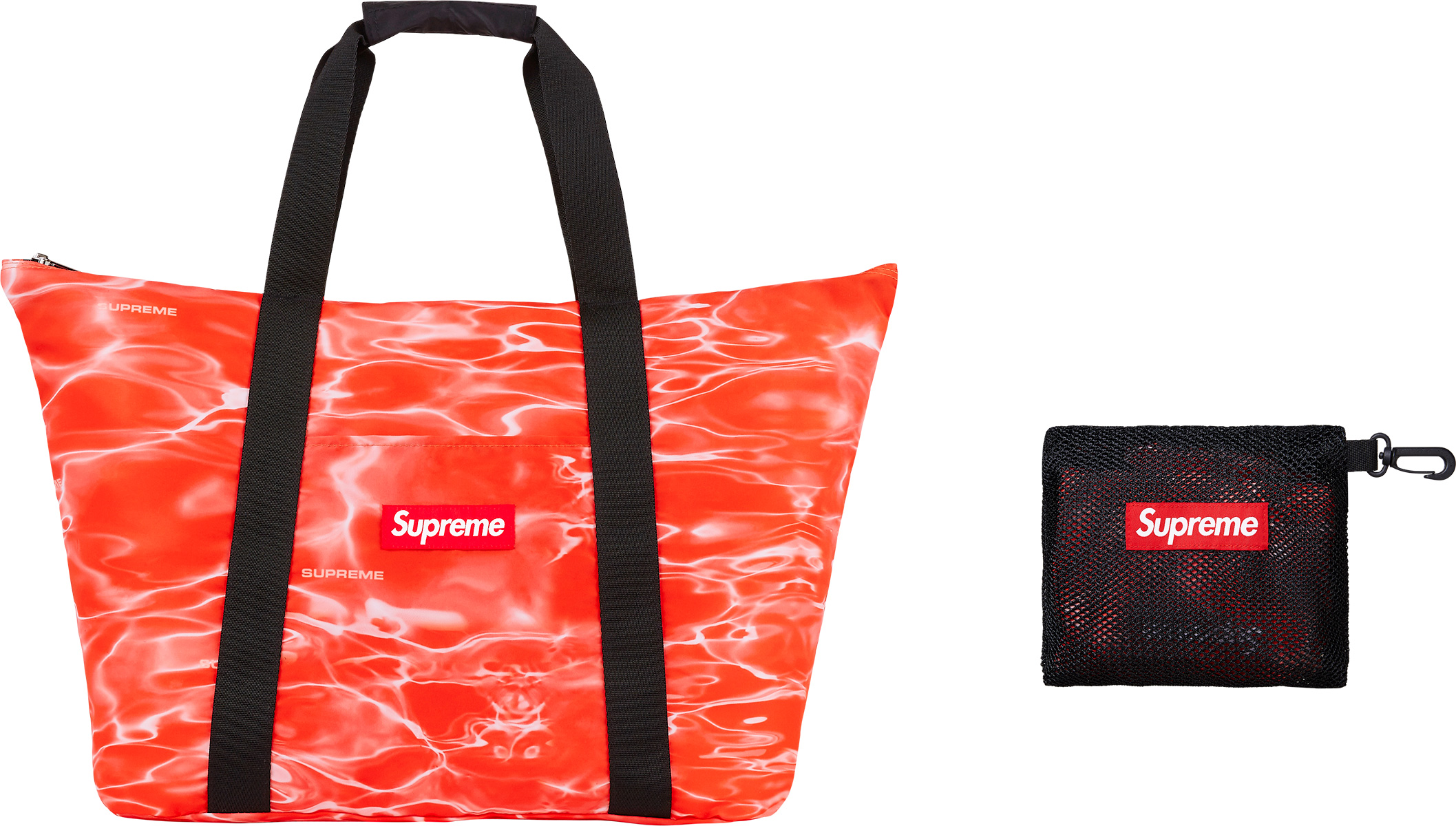 supreme ripple packable tote