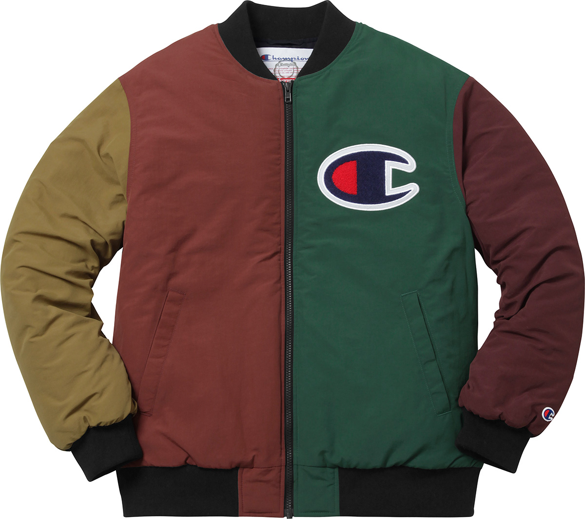 supreme supreme champion color blocked jacket