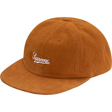 Brushed Twill Script 6-Panel (Gold)