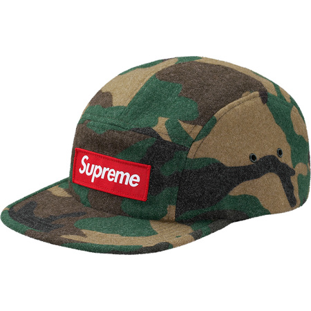 Camo Wool Camp Cap