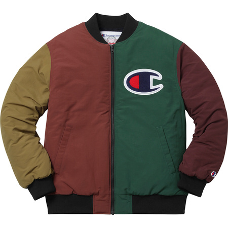 Supreme®/Champion® Color Blocked Jacket