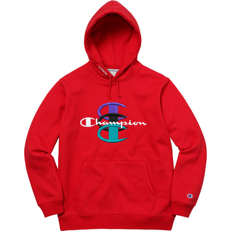 Supreme®/Champion® Stacked C Hooded Sweatshirt
