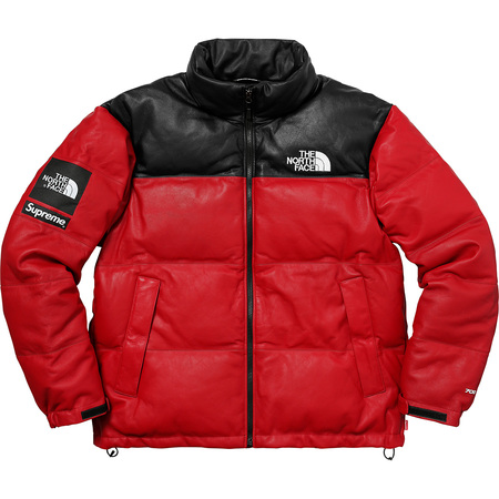 Supreme®/The North Face® Leather Nuptse Jacket