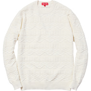 Cotton Jacquard Sweater