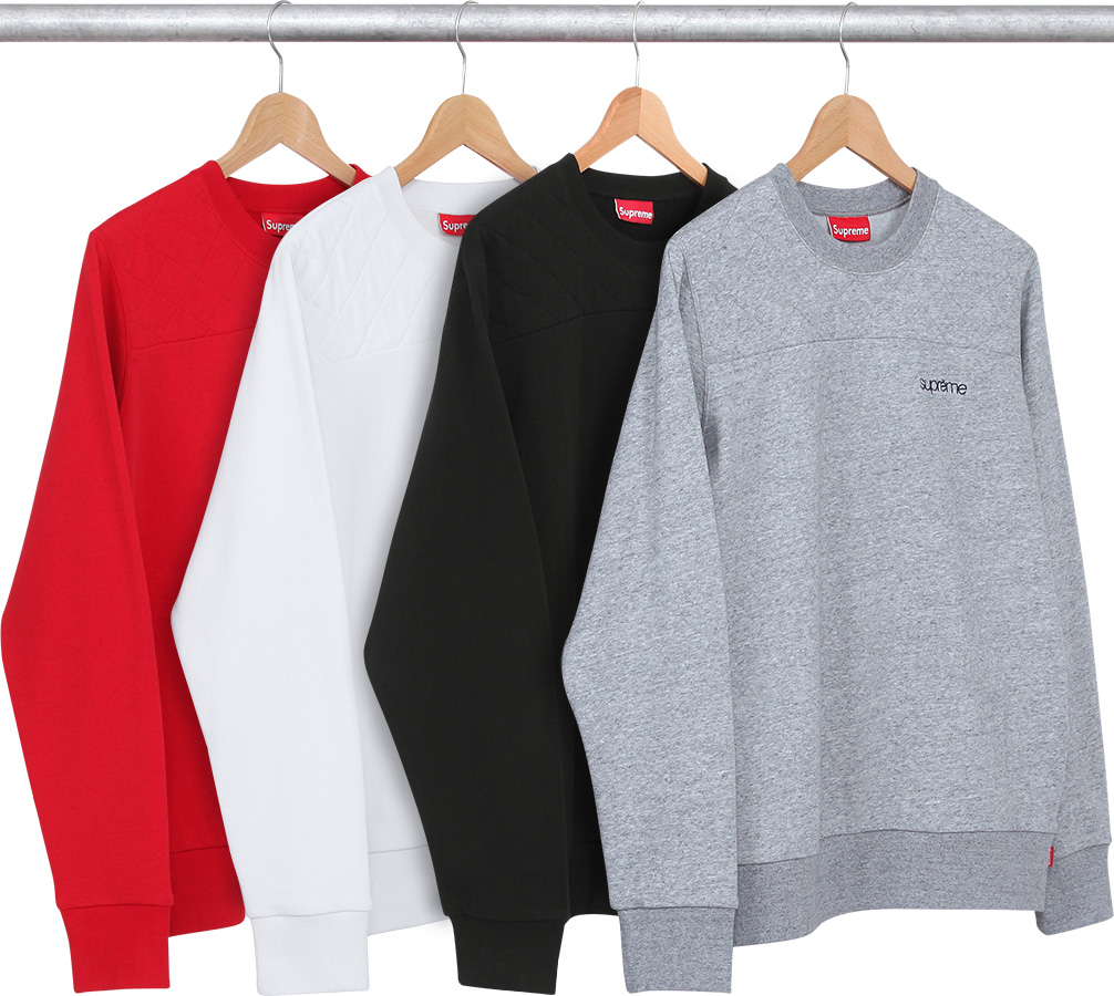 WTB: Supreme Quilted Panel Crewneck | HYPEBEAST Forums : quilted panel - Adamdwight.com