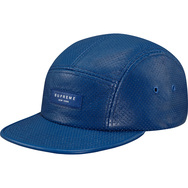Perf Leather Camp Cap