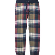 Plaid Sweatpant