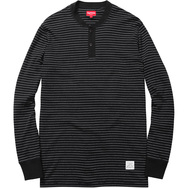 Pinstripe Thermal Henley