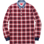 Plaid Rugby Top