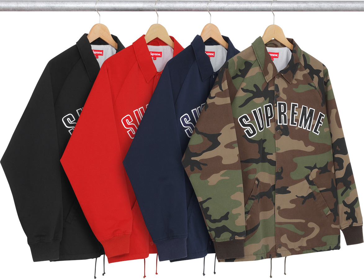 WTB Supreme Twill Coaches 2015 Red Black (Small)   supremeclothing 874c0cf6c