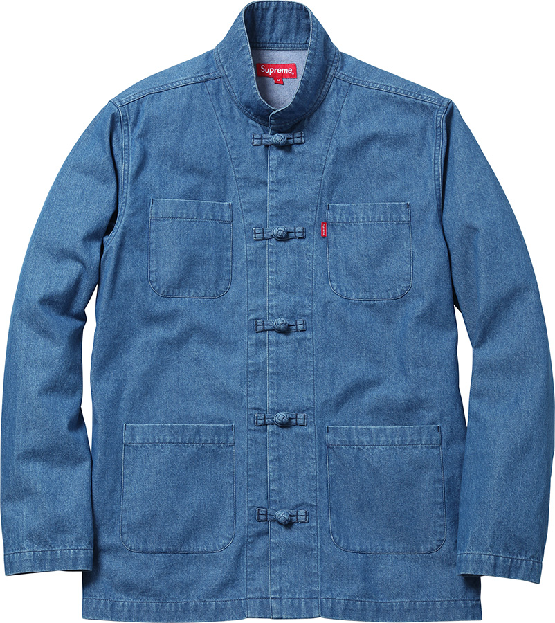 LOOKING FOR BLUE DENIM KUNG FU JACKET, M! : supremeclothing
